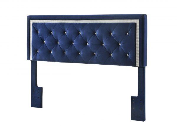 |Queen/Full Panel Headboard **Only** - Navy Blue||
