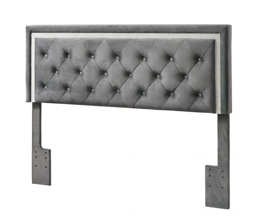 |Queen/Full Panel Headboard **Only** - Grey||