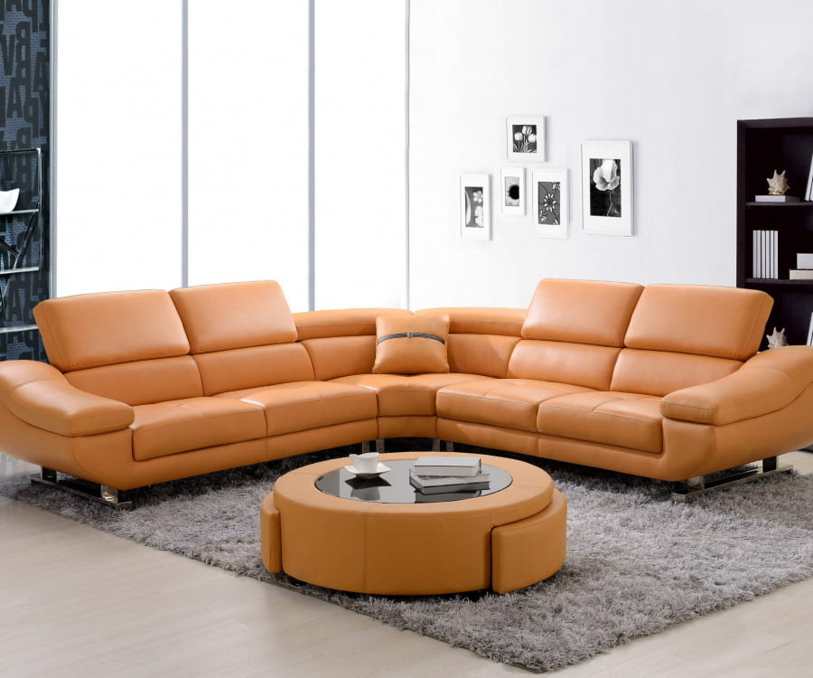 Sectional with Coffee Table