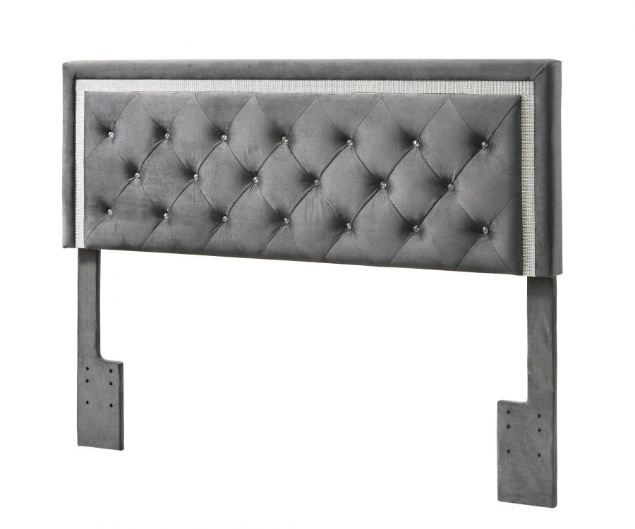 Queen/Full Panel Headboard **Only** - Grey
