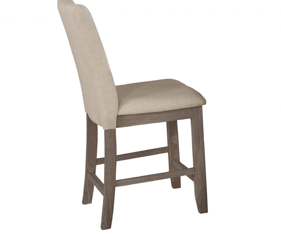 4 Chairs & 1 Bench in Beige