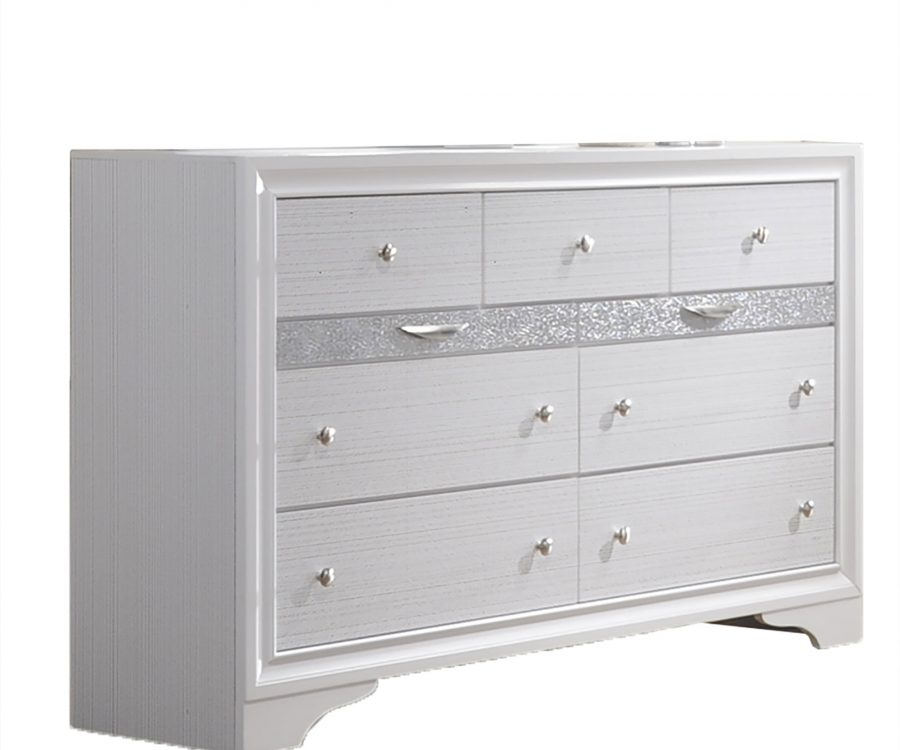 3 Smaller Drawers Dresser with 4 Big Drawers