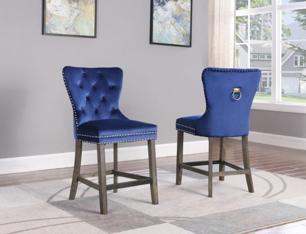 """ 24"""" Counter Height Chair (Set of 2)  """