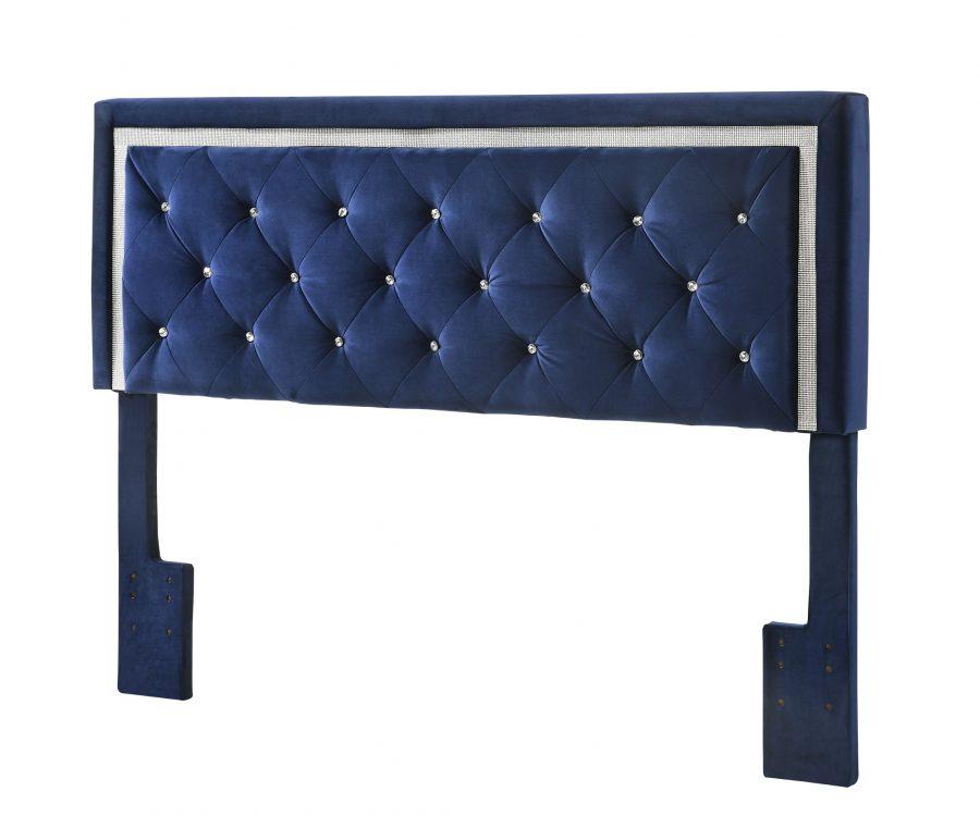 Queen/Full Panel Headboard **Only** - Navy Blue