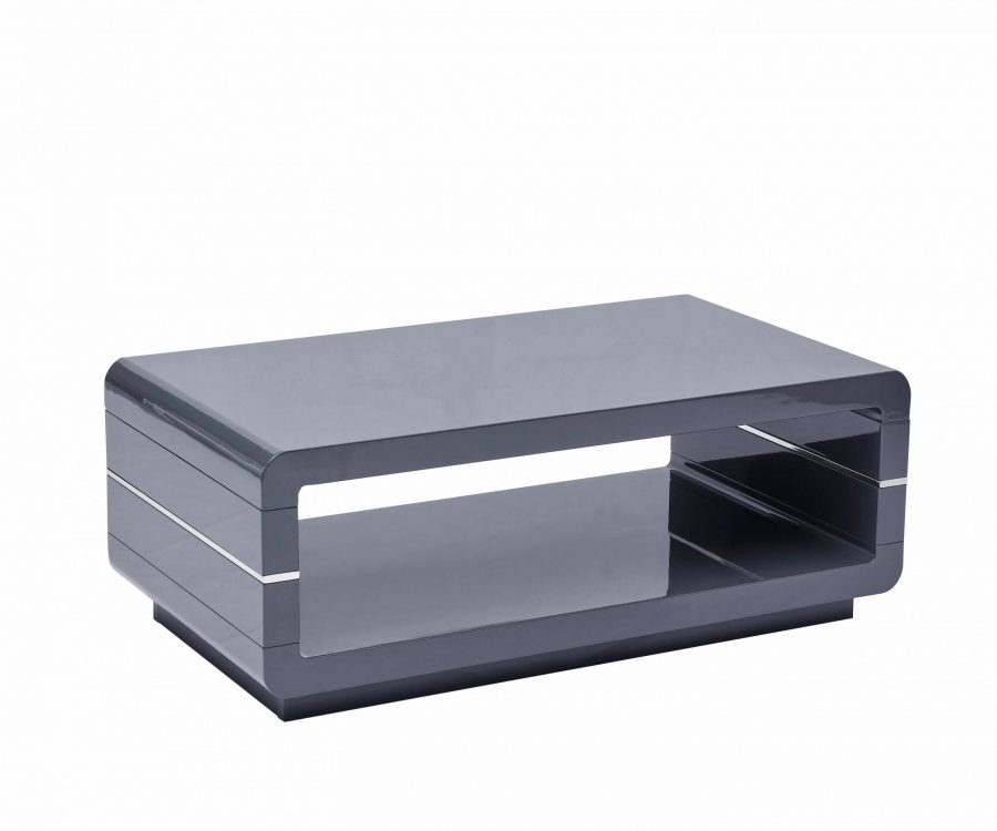 High Gloss Lacquer Coffee Table (Available in White and grey)